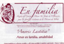 """Hoja """"En Familia"""""""