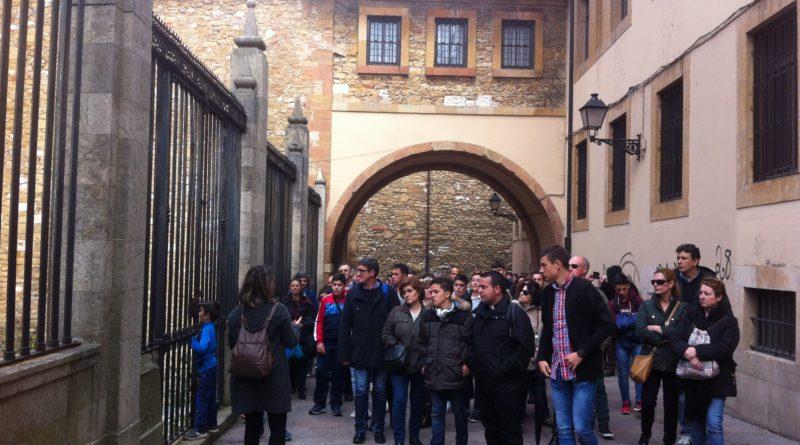 Visita a Oviedo