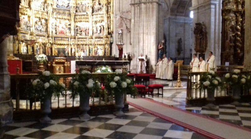 Misa en Oviedo