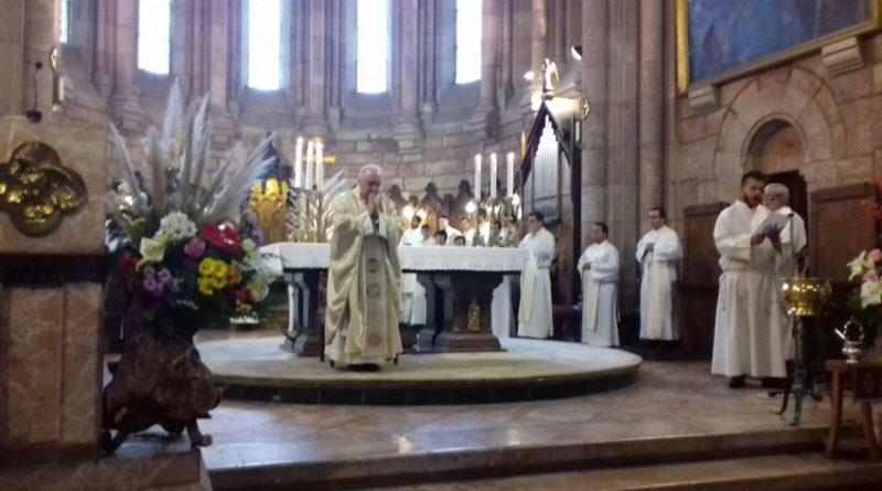 Misa en la Basílica de Covadonga
