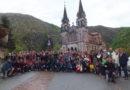 Peregrinación de las familias a Covadonga