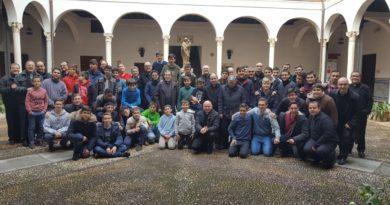 Encuentro con los párrocos de los seminaristas