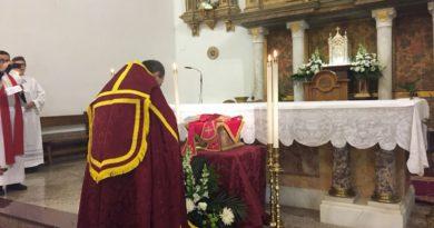 Recepción de la Reliquia del Beato José Sala Picó